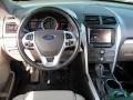 2013 Ingot Silver Metallic Ford Explorer XLT 4WD  photo #16