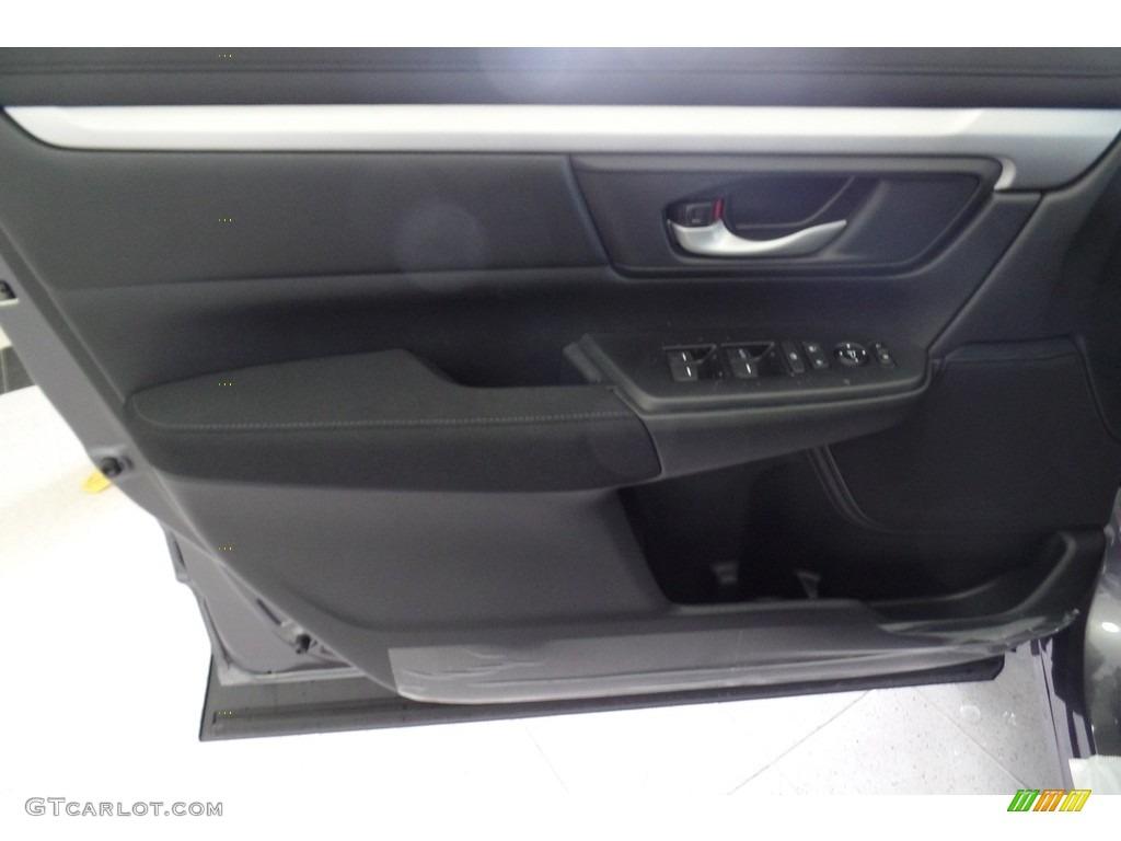 2019 CR-V LX AWD - Modern Steel Metallic / Black photo #10