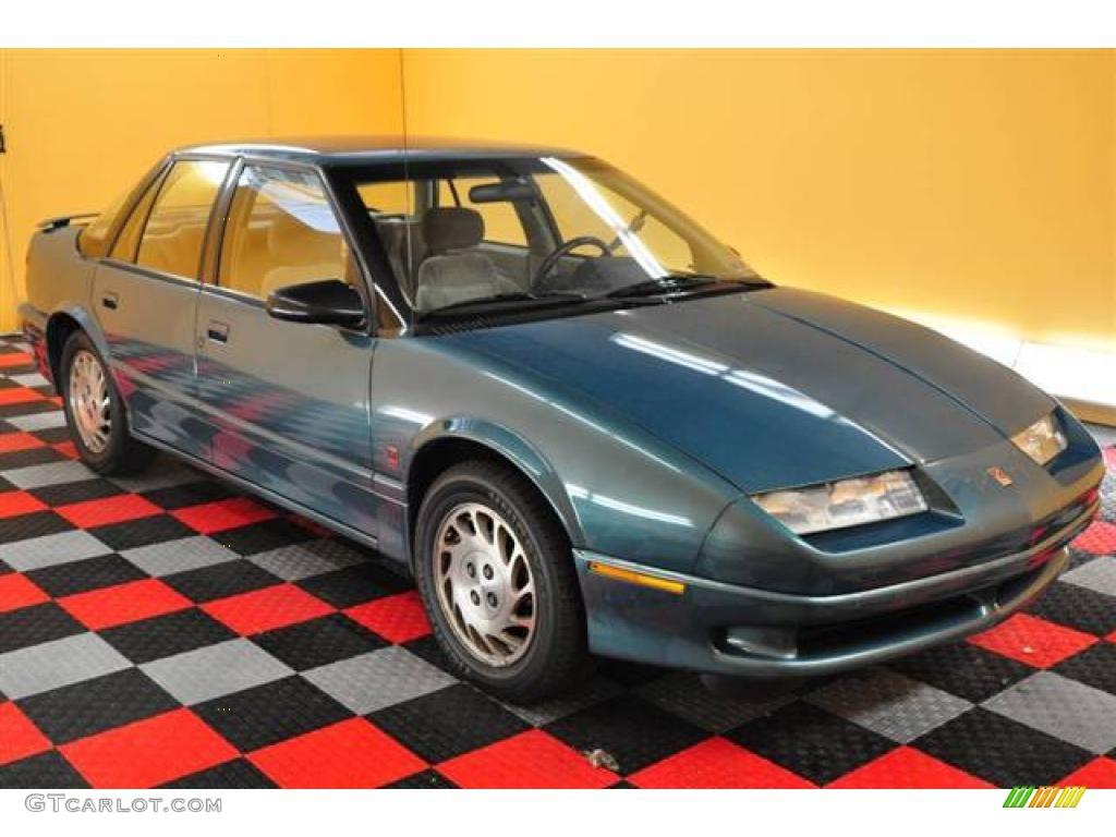 1994 s series sl2 sedan blue green tan photo 1