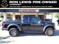 Shadow Black 2018 Ford F150 SVT Raptor SuperCab 4x4