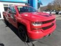 2017 Red Hot Chevrolet Silverado 1500 Custom Double Cab 4x4 #135814041