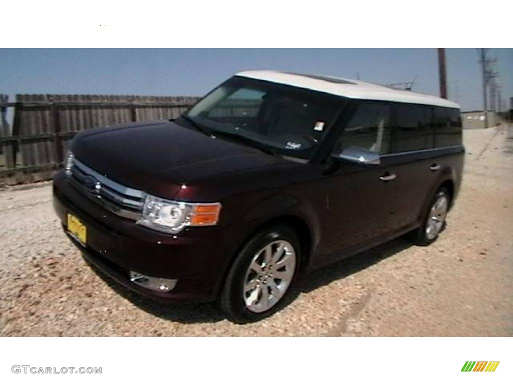 2009 cinnamon metallic ford flex limited 1347744. Black Bedroom Furniture Sets. Home Design Ideas