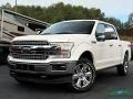 2019 White Platinum Ford F150 Lariat SuperCrew 4x4 #135852909