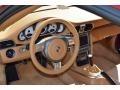 Sand Beige 2008 Porsche 911 Carrera S Coupe Steering Wheel