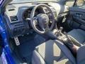 2020 Subaru WRX Carbon Black Interior Front Seat Photo