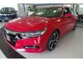 Radiant Red Metallic 2020 Honda Accord Sport Sedan