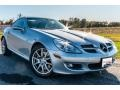 Iridium Silver Metallic 2005 Mercedes-Benz SLK 350 Roadster