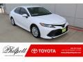 Super White 2019 Toyota Camry Gallery