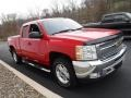 2013 Victory Red Chevrolet Silverado 1500 LT Extended Cab 4x4  photo #9
