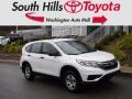 2015 White Diamond Pearl Honda CR-V LX AWD #135924743