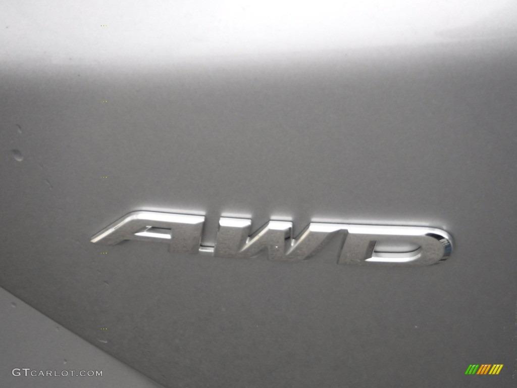 2017 CR-V EX-L AWD - Lunar Silver Metallic / Black photo #11