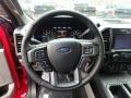 Medium Earth Gray Steering Wheel Photo for 2020 Ford F150 #135940396
