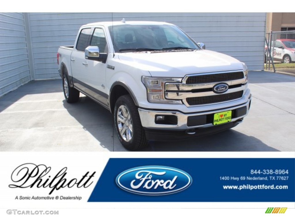 2020 F150 King Ranch SuperCrew 4x4 - Star White / King Ranch Kingsville/Java photo #1