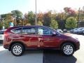 2016 Basque Red Pearl II Honda CR-V EX AWD  photo #7