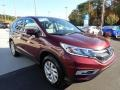 2016 Basque Red Pearl II Honda CR-V EX AWD  photo #8