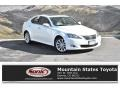 Starfire White Pearl 2010 Lexus IS 250 AWD