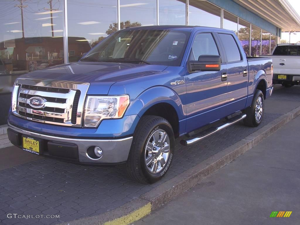 2009 F150 Xlt Supercrew 2009 F150 Xlt Supercrew Blue