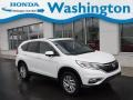 2015 White Diamond Pearl Honda CR-V EX AWD  photo #1