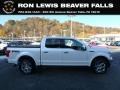 2018 White Platinum Ford F150 Lariat SuperCrew 4x4 #135976302