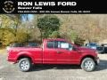2019 Ruby Red Ford F150 XLT SuperCab 4x4 #135976301