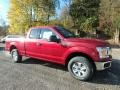 2019 Ruby Red Ford F150 XLT SuperCab 4x4  photo #8