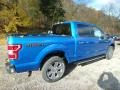 2019 Velocity Blue Ford F150 XLT SuperCrew 4x4  photo #2