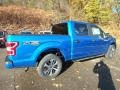 2020 Velocity Blue Ford F150 STX SuperCrew 4x4  photo #2