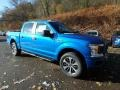 2020 Velocity Blue Ford F150 STX SuperCrew 4x4  photo #8