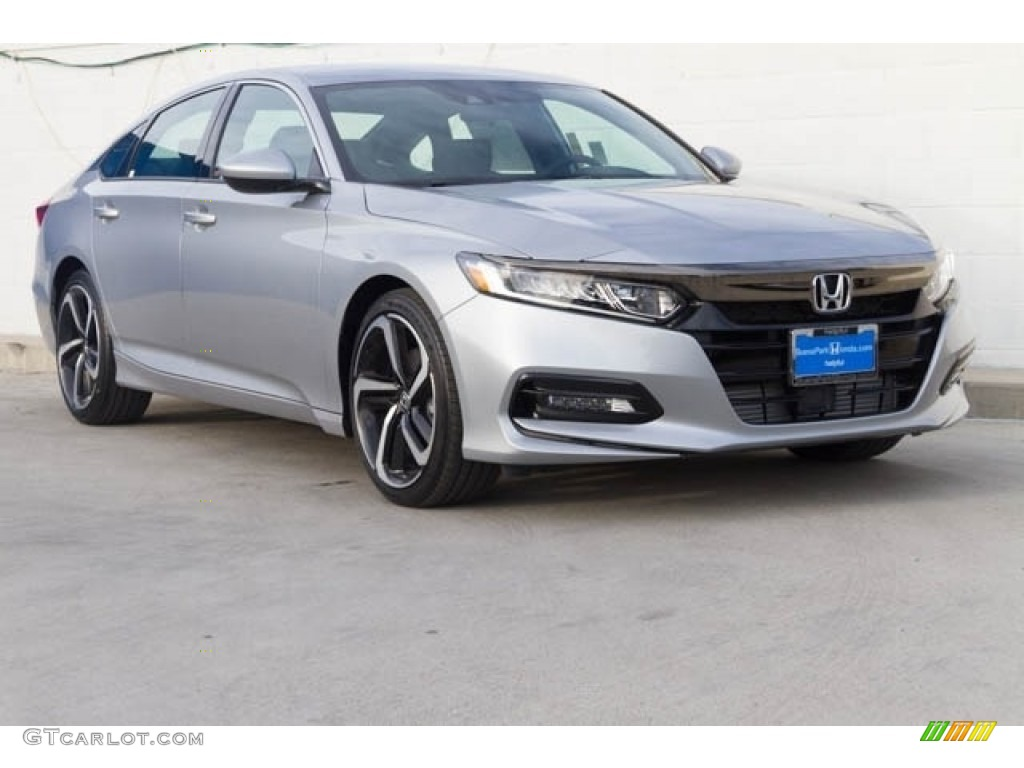 2020 Lunar Silver Metallic Honda Accord Sport Sedan 136054762 Gtcarlot Com Car Color Galleries