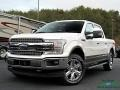 2019 White Platinum Ford F150 Lariat SuperCrew 4x4 #136054540