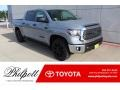 2020 Cement Toyota Tundra TSS Off Road CrewMax #136103062