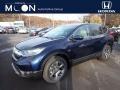 2019 Obsidian Blue Pearl Honda CR-V EX-L AWD #136110560