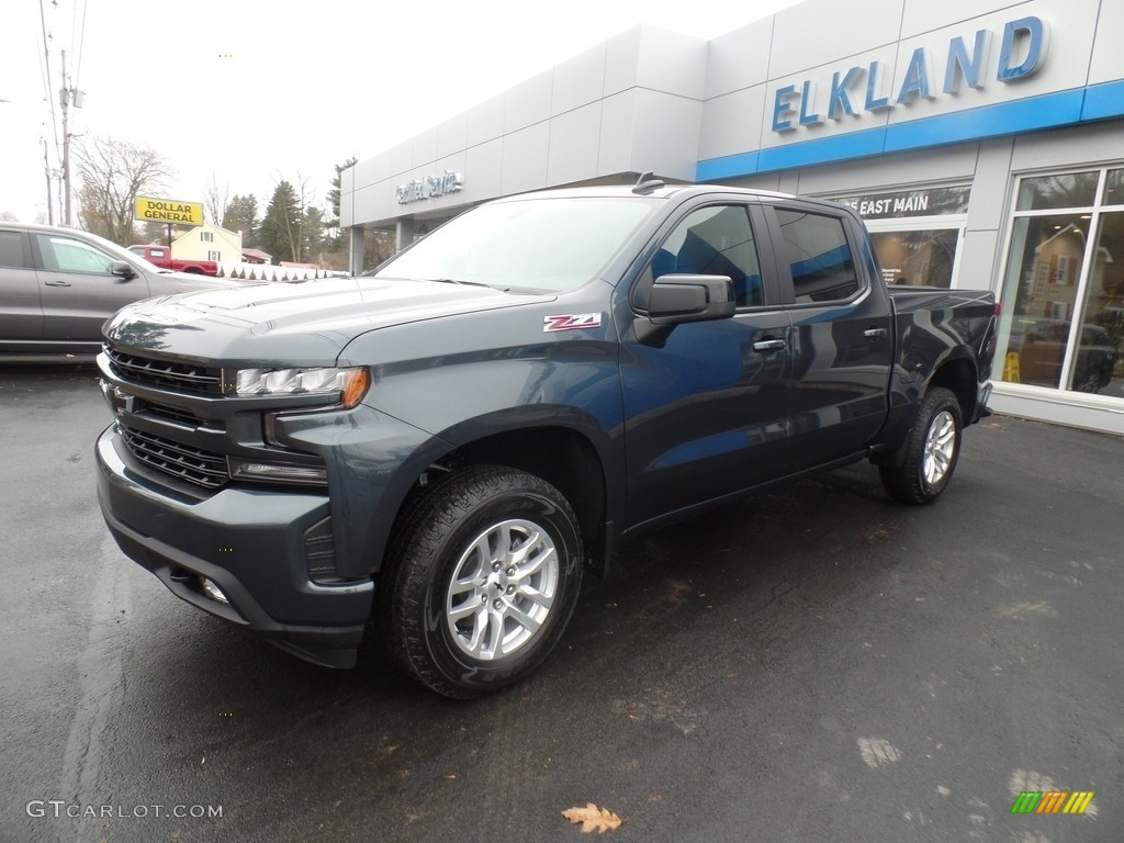 2020 Silverado 1500 RST Crew Cab 4x4 - Shadow Gray Metallic / Jet Black photo #1
