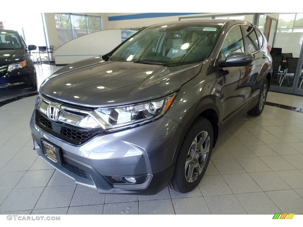 2019 CR-V EX-L AWD - Modern Steel Metallic / Gray photo #1