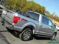 2020 Iconic Silver Ford F150 XLT SuperCrew 4x4  photo #36