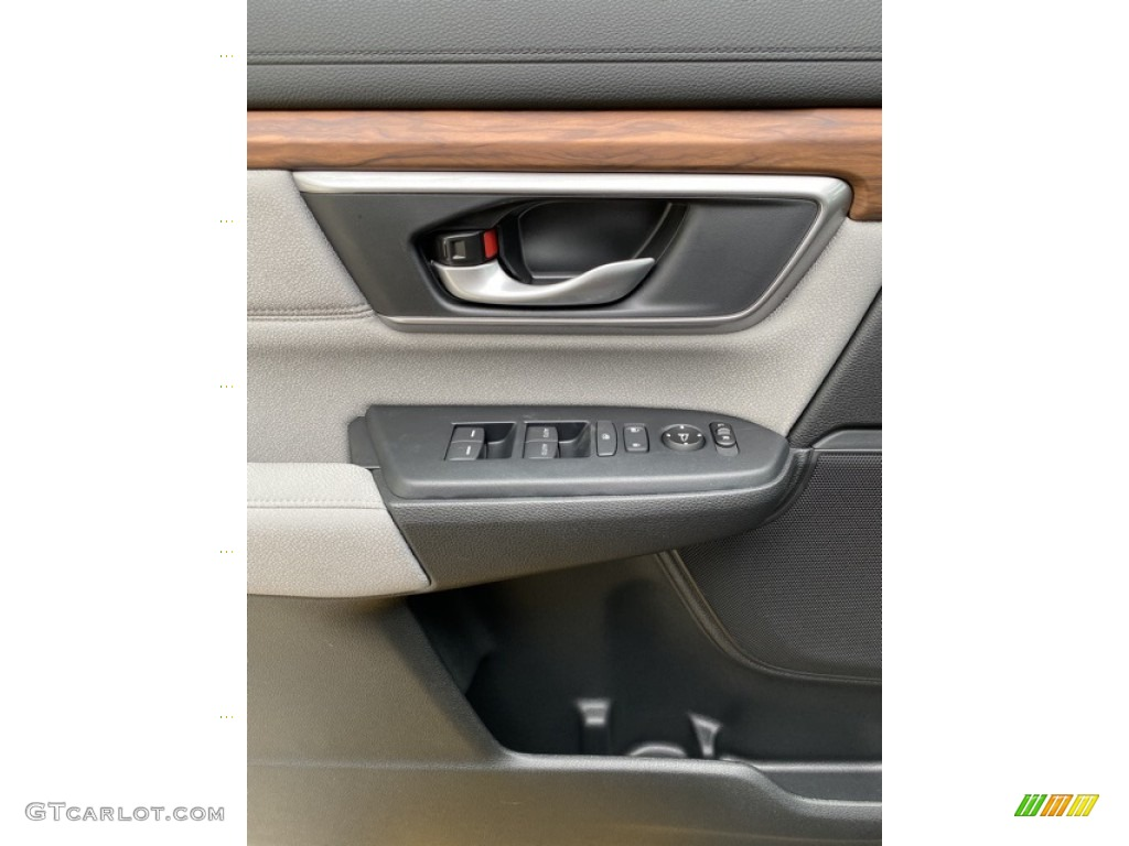 2019 CR-V EX AWD - Basque Red Pearl II / Gray photo #11