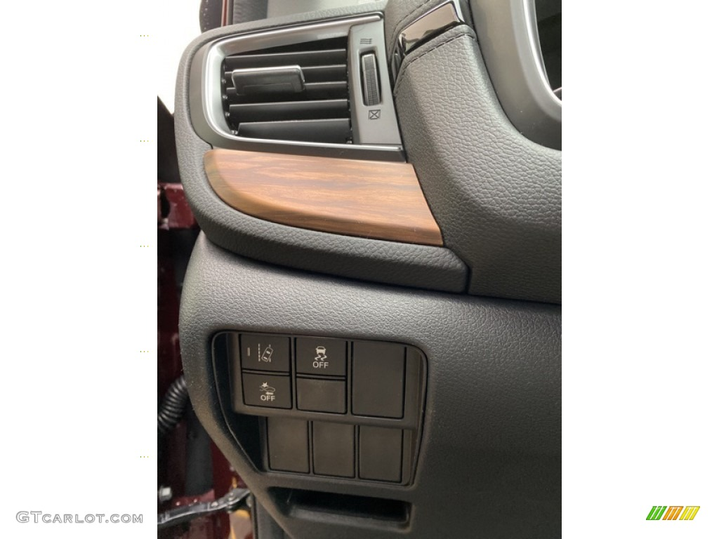 2019 CR-V EX AWD - Basque Red Pearl II / Gray photo #12