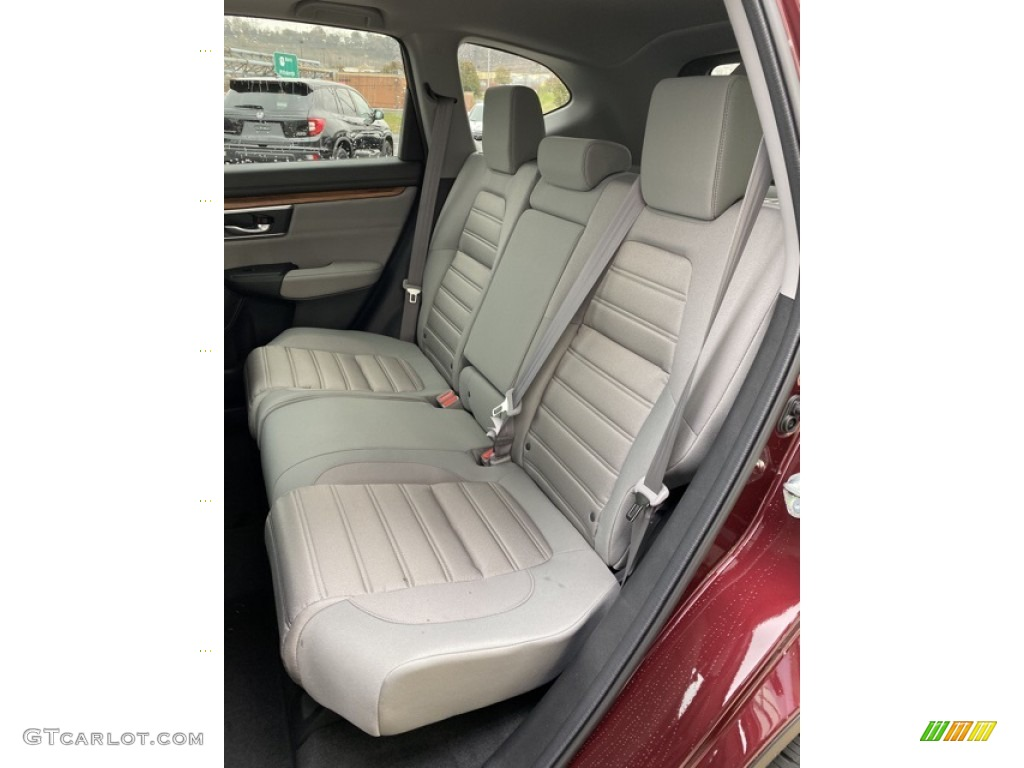 2019 CR-V EX AWD - Basque Red Pearl II / Gray photo #18