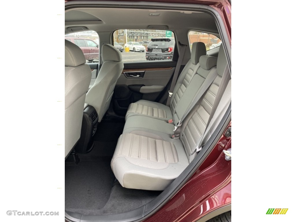 2019 CR-V EX AWD - Basque Red Pearl II / Gray photo #19
