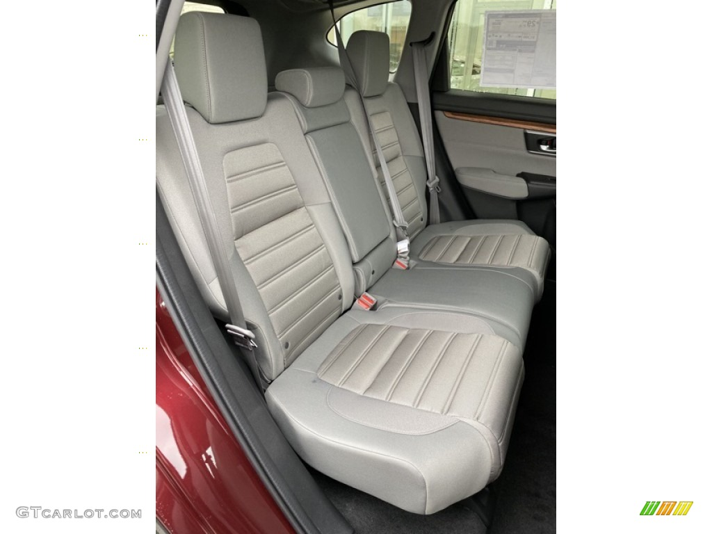 2019 CR-V EX AWD - Basque Red Pearl II / Gray photo #24