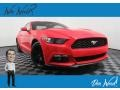 2015 Race Red Ford Mustang EcoBoost Coupe  photo #1
