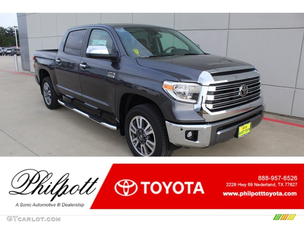 2020 Tundra 1794 Edition CrewMax 4x4 - Magnetic Gray Metallic / 1794 Edition Brown/Black photo #1