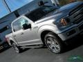 2020 Iconic Silver Ford F150 XLT SuperCrew 4x4  photo #34
