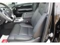2020 Toyota Tundra Black Interior Front Seat Photo