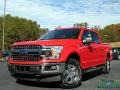 2019 Race Red Ford F150 Lariat SuperCrew 4x4 #136157708