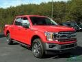 2019 Race Red Ford F150 Lariat SuperCrew 4x4  photo #7