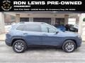 Blue Shade Pearl 2019 Jeep Cherokee Latitude Plus 4x4