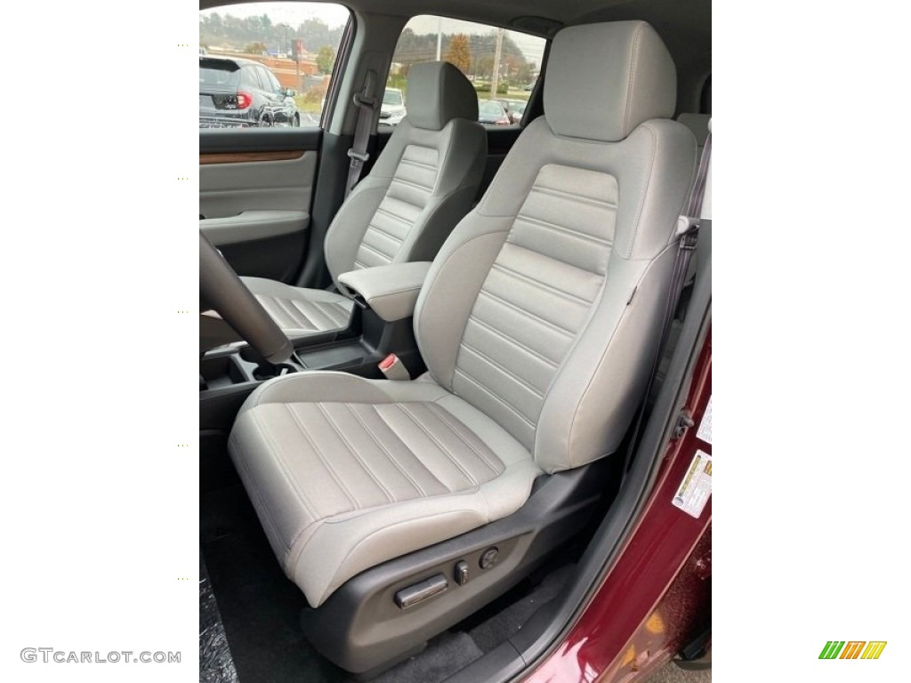 2019 CR-V EX AWD - Basque Red Pearl II / Gray photo #14