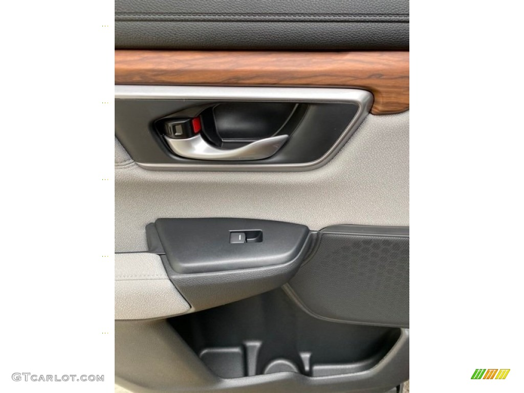 2019 CR-V EX AWD - Basque Red Pearl II / Gray photo #17