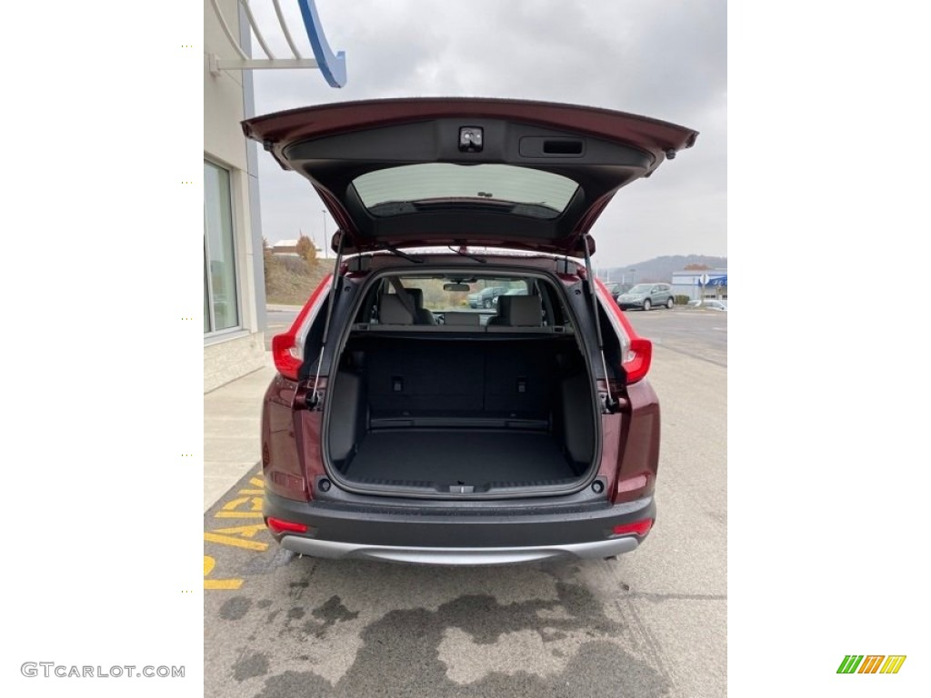 2019 CR-V EX AWD - Basque Red Pearl II / Gray photo #20
